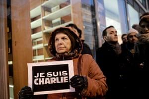 Charlie Hebdo tributes: Thessaloniki, Greece