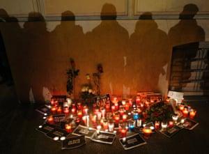 Charlie Hebdo tributes: Zagreb, Croatia