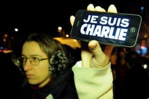 Charlie Hebdo tributes: Tbilisi, Georgia