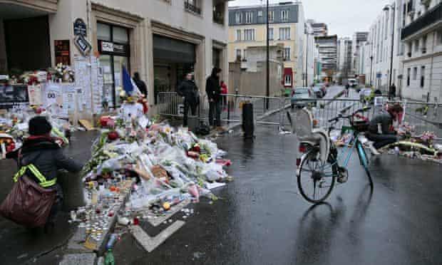 Charlie Hebdo offices, Paris