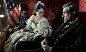 Not chewing the scenery … Sally Field and Daniel Day-Lewis in Lincoln.