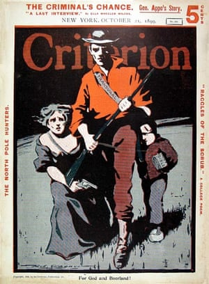 The front cover of Criterion Magazine