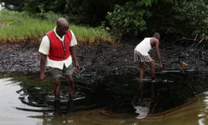 Oil slick Bodo City