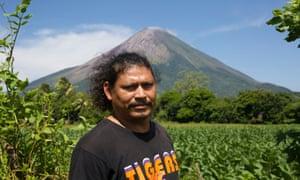 Norvin Somarriba, a tour guide on Ometepe.