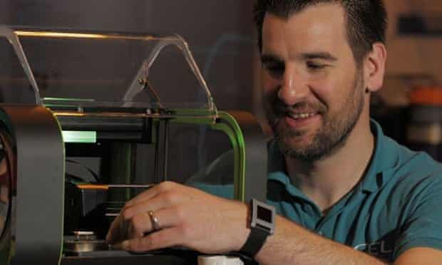 Robox inventor Chris Elsworthy thinks 3D printing isn't just for geeks.