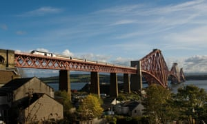 South Queensferry, between the two Forth bridges, has lovely coastal walks.