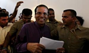 Sri Lanka Awaits Results Of 2015  Presidential Election