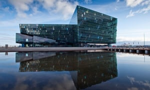 Harpa Concert Hall and Conference Center in Reykjavik