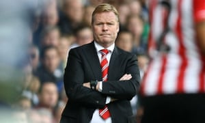 Ronald Koeman takes his Southampton team to Manchester United looking to leapfrog Louis van Gaal's side into third place.