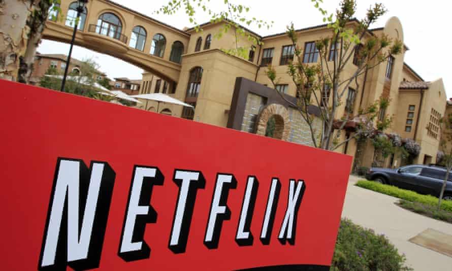 Netflix's headquarters in Los Gatos, California.
