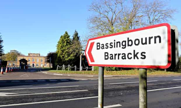 Two of the trainees at Bassingbourn barracks in Cambridgeshire were charged with raping a man while