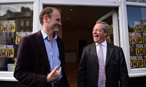 Douglas Carswell (left) with Nigel Farage