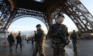 Paris is put on a high state of alert