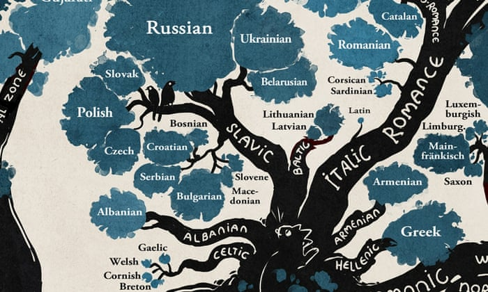 what are the two largest language families in the world