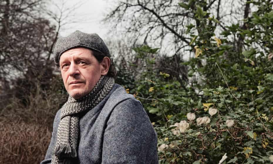 Marco Pierre White at Chelsea Physic Garden.