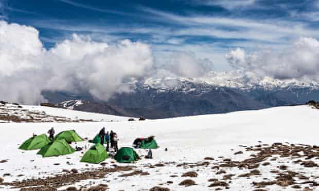 Mountain trekking Iraqi Kurdistan.