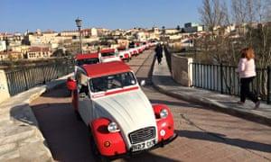 2CV Rally in Spain