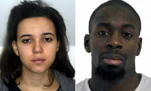 Hayat Boumeddiene and Amedy Coulibaly