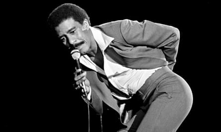'Kiss my happy, rich black ass' … Richard Pryor during his performance at the Hollywood Bowl on 18 S
