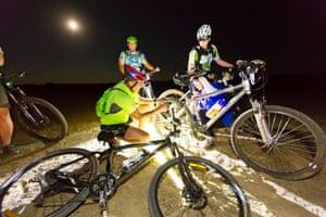 Desert Nights bike riding trip, Namibia