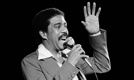 'I came here for human rights' ... Pryor lat the Hollywood Bowl. Photograph: Lennox McLendon/AP