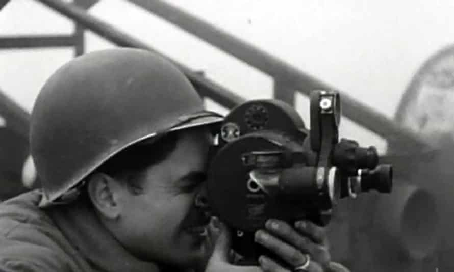 A US combat cameraman from Night Will Fall
