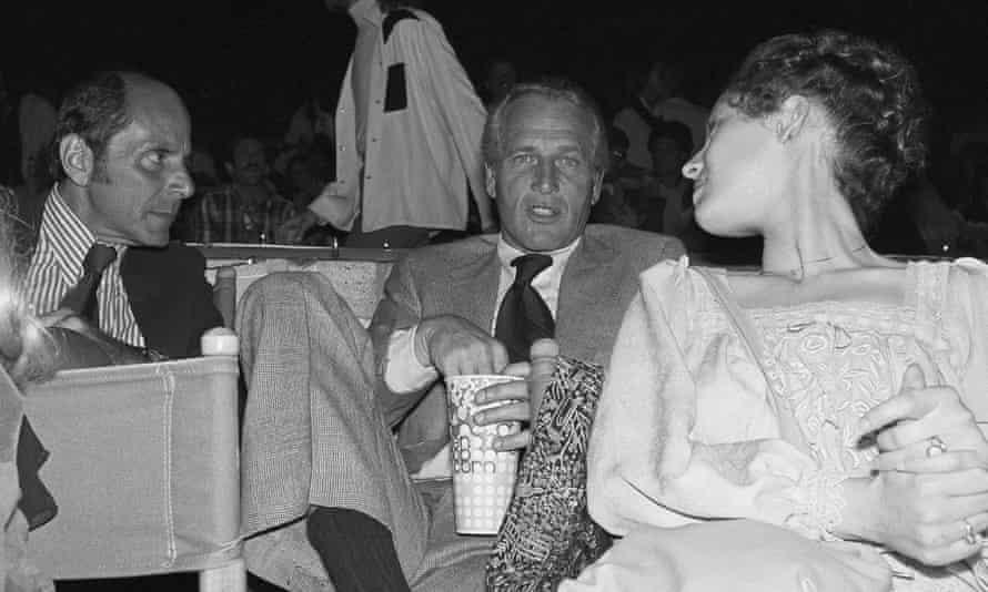 Paul Newman at the show. Photograph: Lennox McLendon/AP