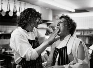 """Nine out of 10 English chefs have their names on their chests. Who do they think they are? They're dreamers. They're jokes. Just ask yourself how many chefs in this country have Michelin stars and how many have their names on their jackets. We all wear blue aprons in my kitchen because we're all commis, we're all still learning."" <strong><em>MPW</em></strong>"