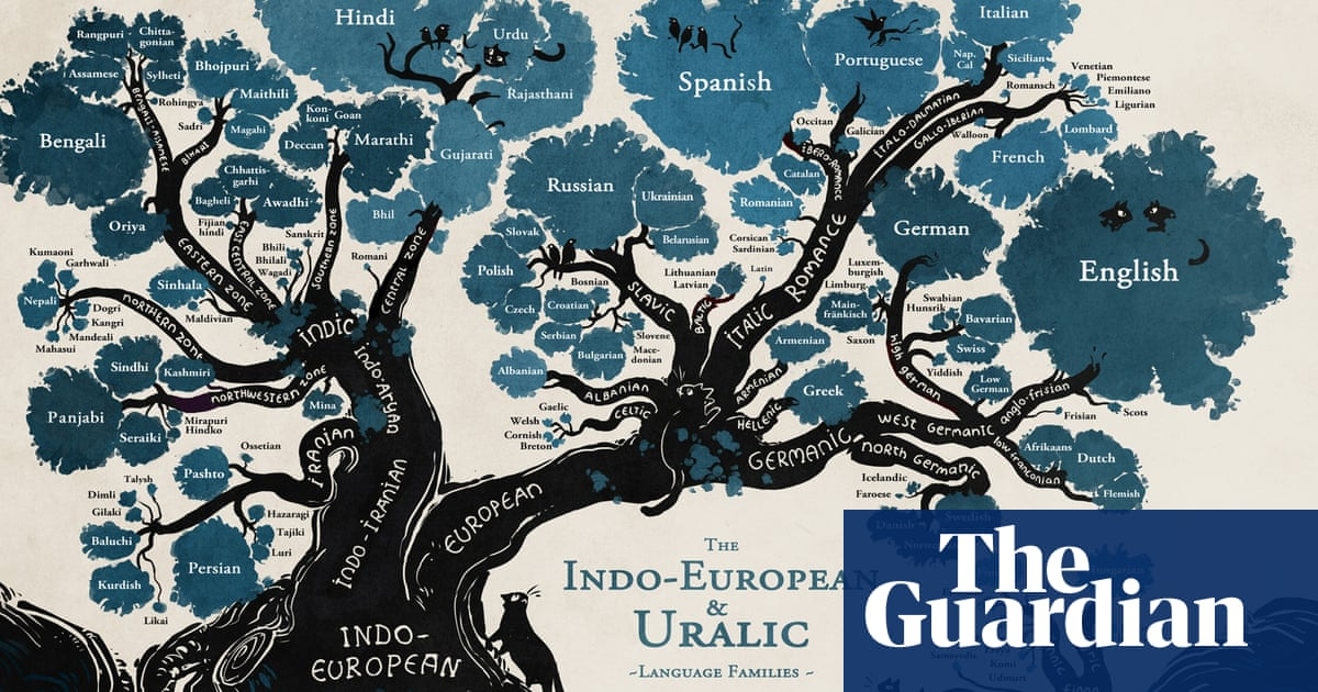 A language family tree - in pictures | Education | The Guardian on world map chinese, world language map europe, world language families map, world map country, world map historical, world languages poster, world map highlights, world map type, world map languages spoken, world map dutch, world map spanish, world map portuguese, columbia language, world map search, world map polish, world map bible, world map religion, world map culture, the word language, world map english,