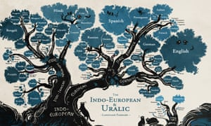 A Language Family Tree In Pictures Education The Guardian