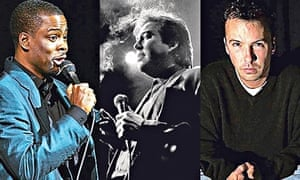 Pryor's disciples … Chris Rock, Bill Hicks, Doug Stanhope
