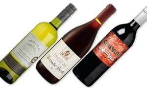 Three budget wines