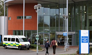 HINCHINGBROOKE HOSPITAL IN HUNTINGDON. Image shot 2011. Exact date unknown.
