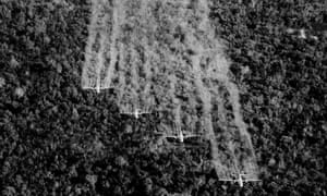Agent Orange a risk for US personnel working on planes after