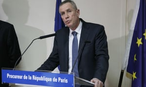 Francois Molins Paris prosecutor