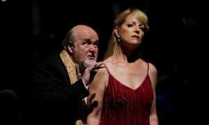 Kim Begley and Lise Lindstrom in the BSO's production of Salome.