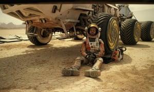 Matt Damon in The Martian. Photograph: Moviestore/REX Shutterstock