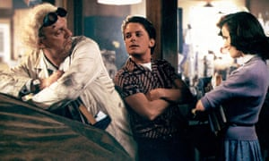 Inspired performances … Christopher Lloyd, Michael J Fox and Lea Thompson in Back to the Future.