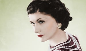 Pearly queen: Coco Chanel in 1936