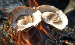 All fired up: you can enjoy oysters cooked as well as raw.