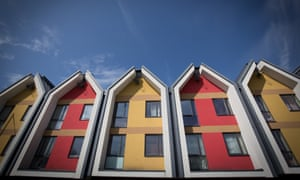 Properties that were recently built by a housing association to provide affordable homes in Bristol.