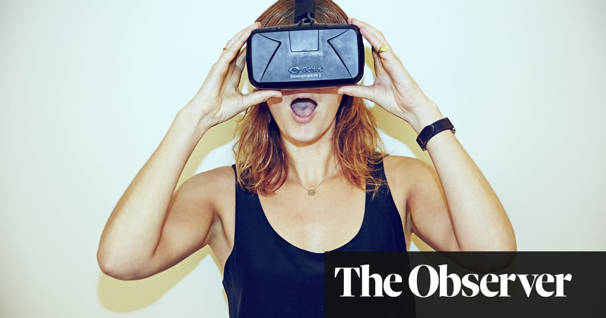 Virtual reality? Not for me  Then I turn into Wonder Woman and fly