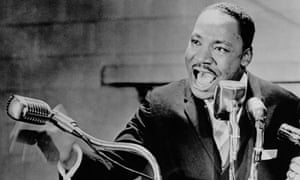 Martin Luther King Speaking at Fisk University