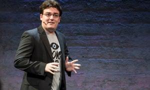 Palmer Luckey, creator of the Oculus Rift.