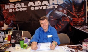 Neal Adams at the Wizard World Comic Con in Philadelphia in 2014.
