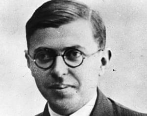 Jean-Paul Sartre c1940