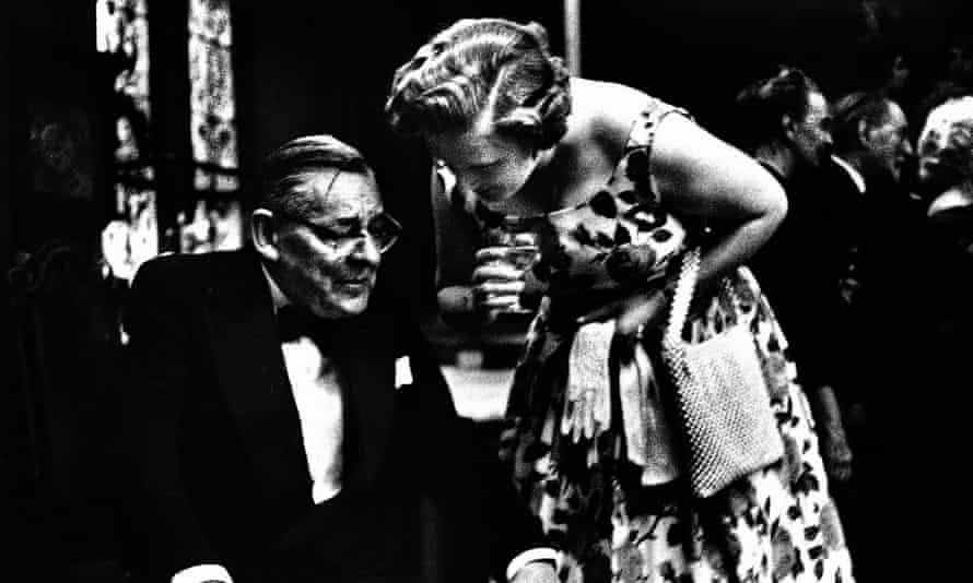 'I love a tall girl' … TS Eliot and Valerie in 1959
