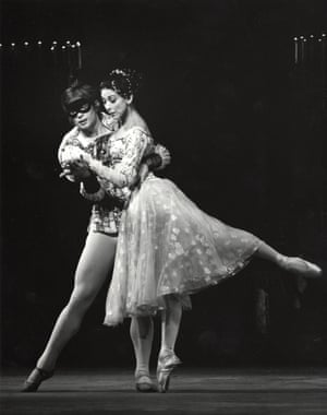 Margot Fonteyn and Rudolf Nureyev performing in 1965 at the ROH