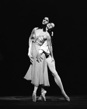 Darcey Bussell and Jonathan Cope
