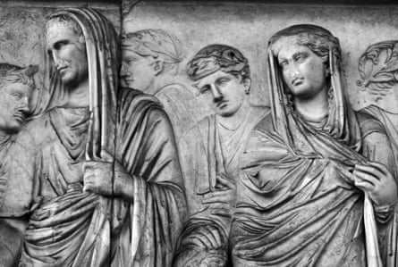Detail from Ara Pacis Augustae, analtar in Rome dedicated to Pax,the Roman goddess of peace.